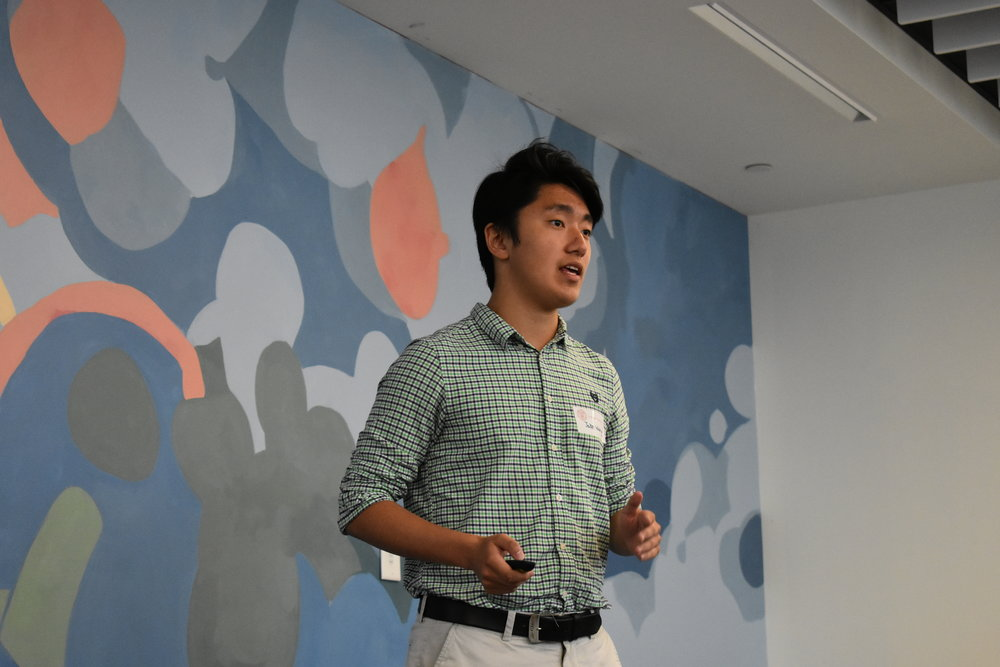 """The things I found most valuable this summer would have to be all the pitching activities and ice breakers, as it was a great way to boost my confidence. I am also grateful for meeting all of you!""  - Jake Wang (LCS '18)"