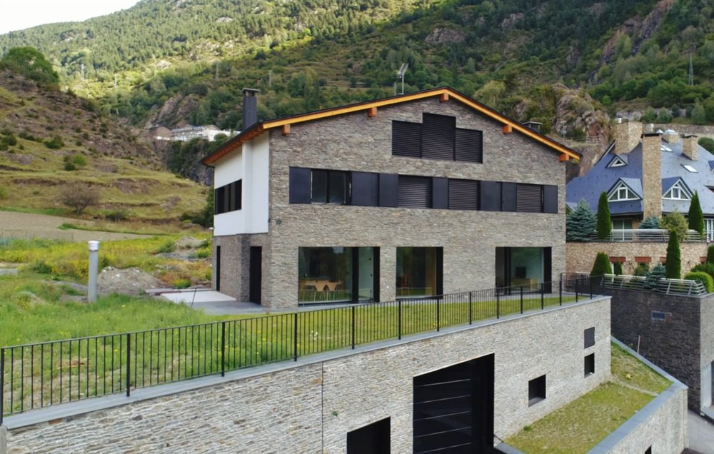 Passive House in Encamp (Andorra).   Enginesa  project.  Passive House in Encamp (Andorra). Enginesa project.