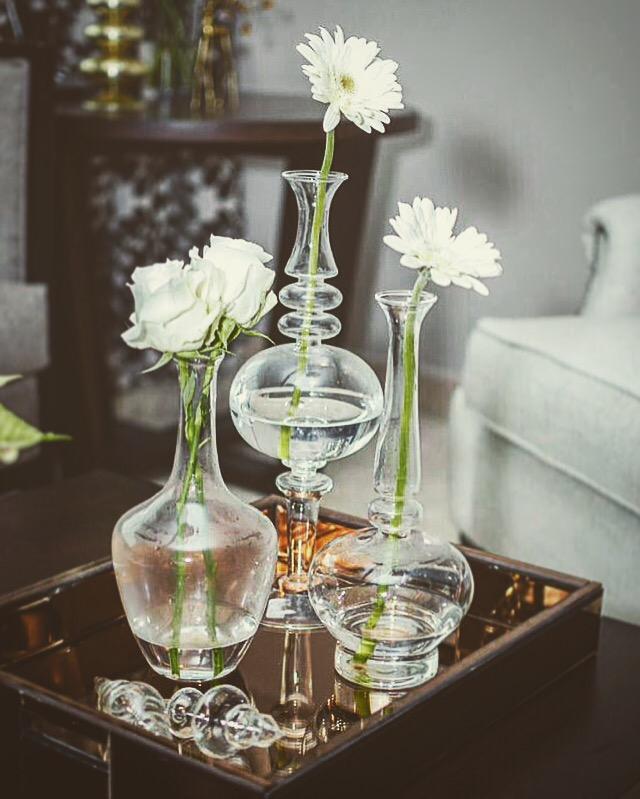 Flores en interiorismo