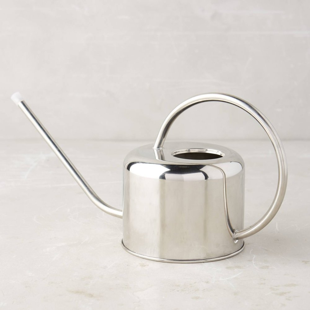 Anthropologie. Metal watering can small