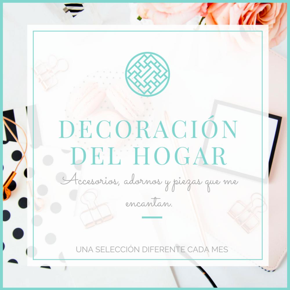 Articulos de decoracion recomendados por Lucy Martinez