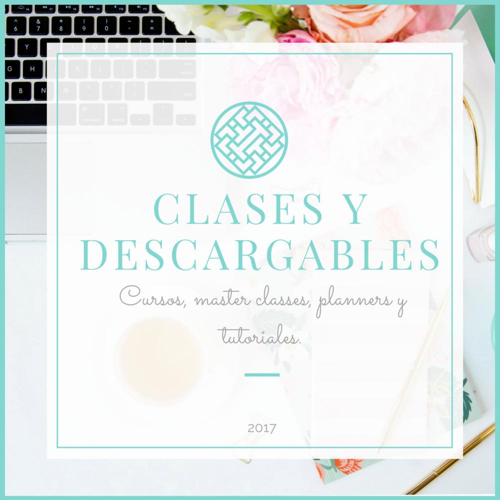 Clases, cursos y descargables de Lucy Martinez