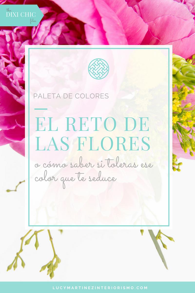 El Reto de las Flores. Tu tolerancia al Color.