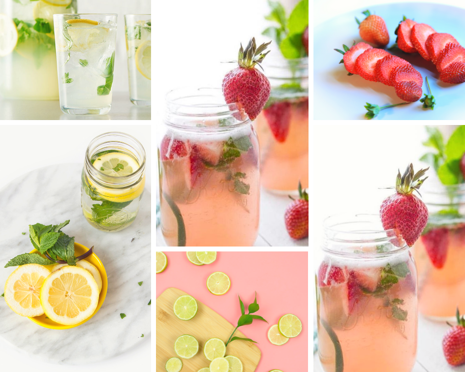 spritzer collage