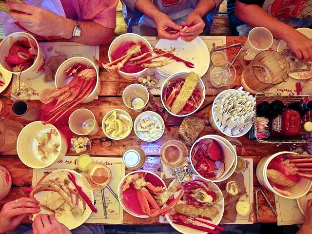 Lobstah  and  clam chowdah!   Everyone comes to Boston in search of these seafood staples.  But award-winning eateries in Beantown boast plates as diverse as the people who live here.  Sample bistro-style fare on the sidewalks of Newbury Street or travel to the trattorias in the North End for Italian dishes that will make it difficult to walk the Freedom Trail.