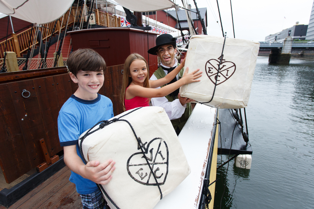 10/Boston Tea Party Ships & Museum