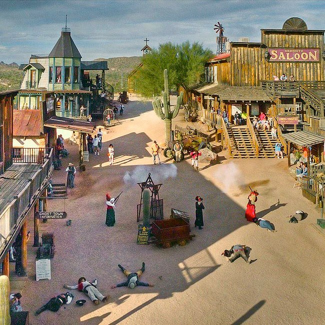 10/Goldfield Ghost Town