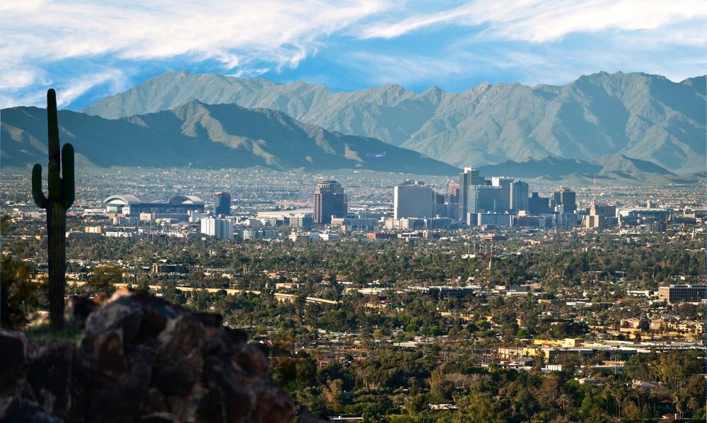 Phoenix skyline:Peter Jordan & Visit Phoenix.jpg