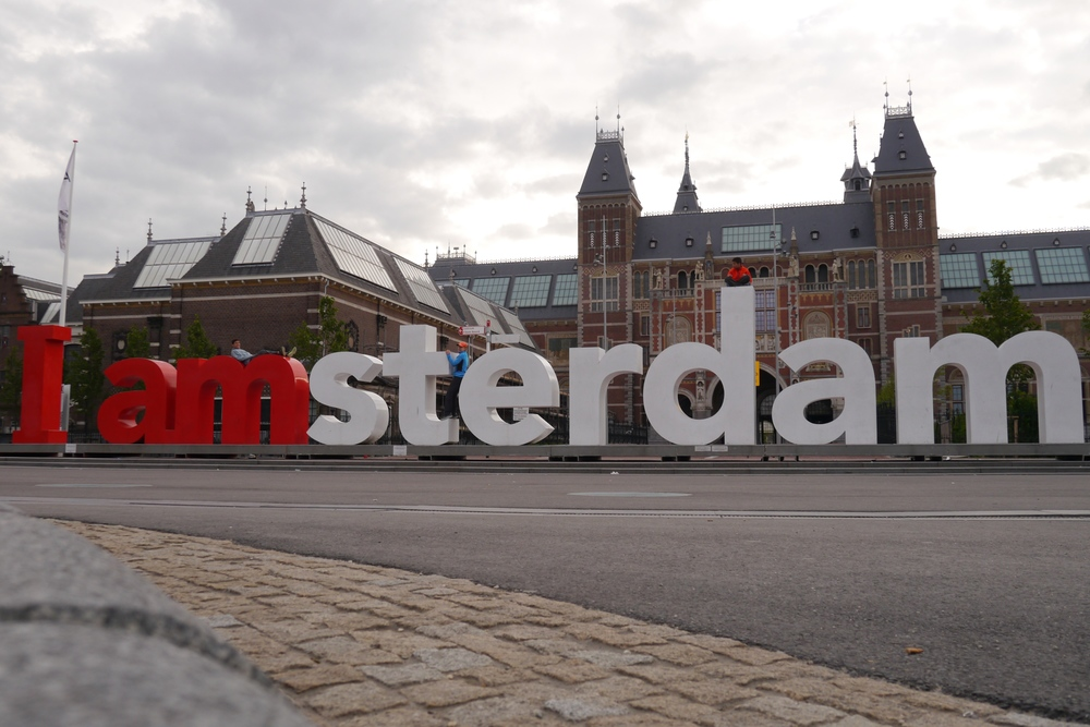 2/I AMSTERDAM Sign