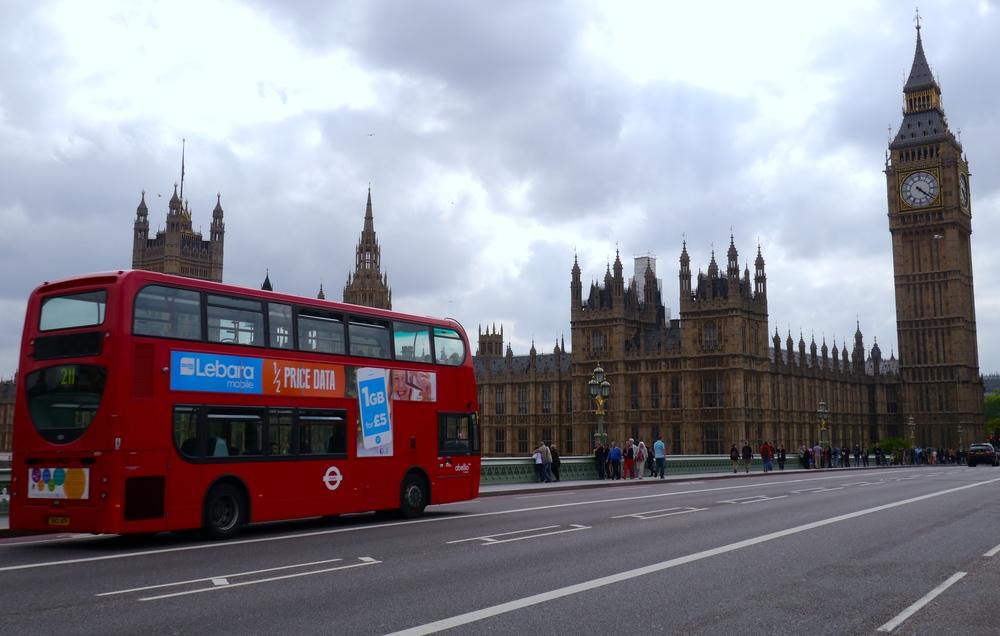 1/Double-decker Bus