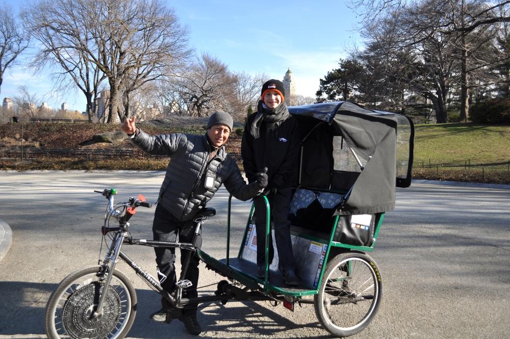 8/Take a pedicab through Central Park