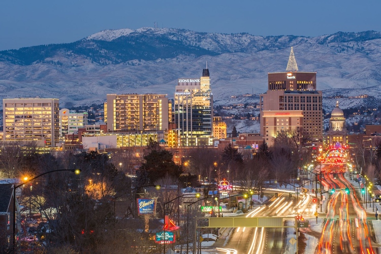 Image result for picture of boise id downtown