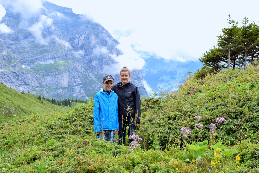 1/Hike in Lauterbrunnen Valley