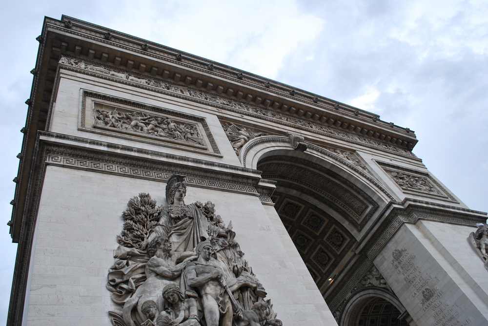 4/Experience the views from the Arc de Triomphe