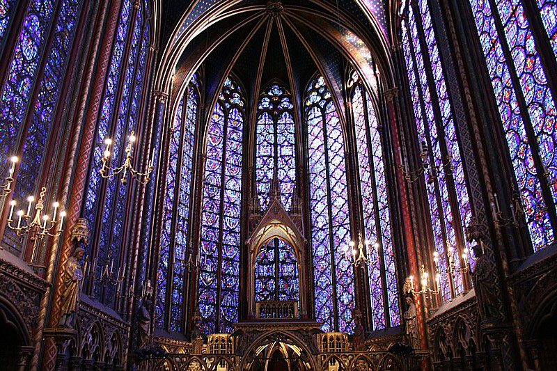 7/See the story at Sainte-Chappelle