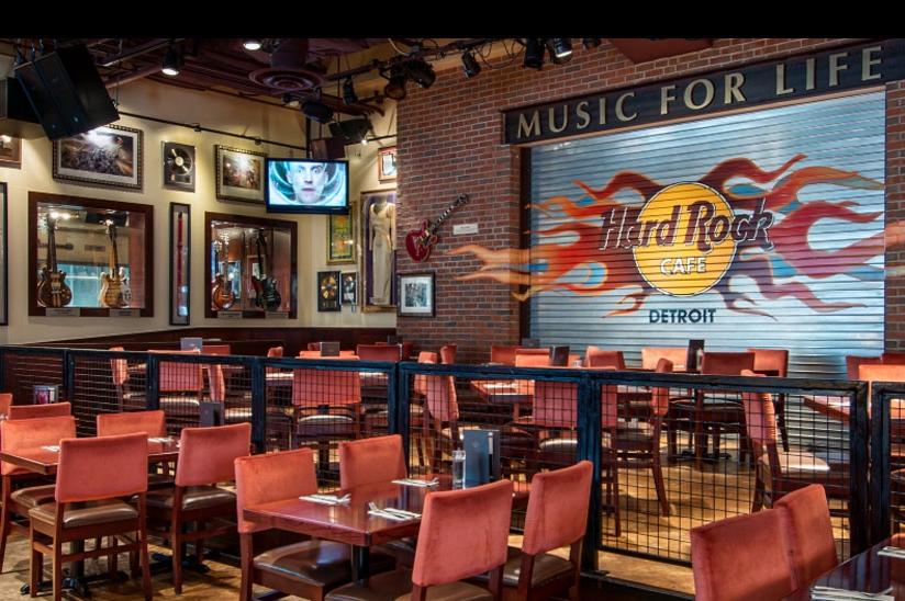 4/Hard Rock Cafe Detroit