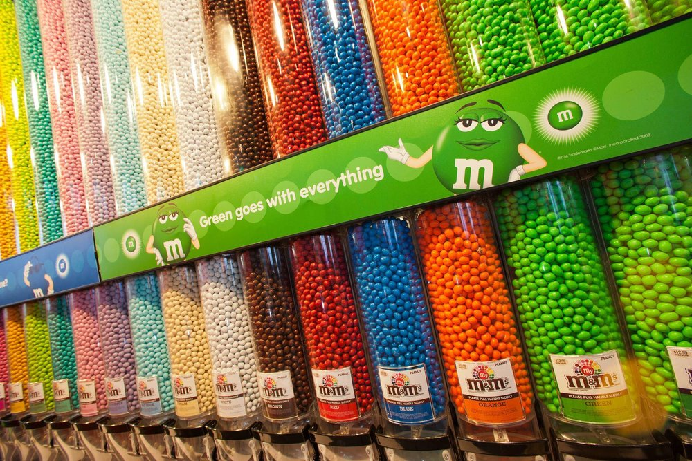 2/M&M's World