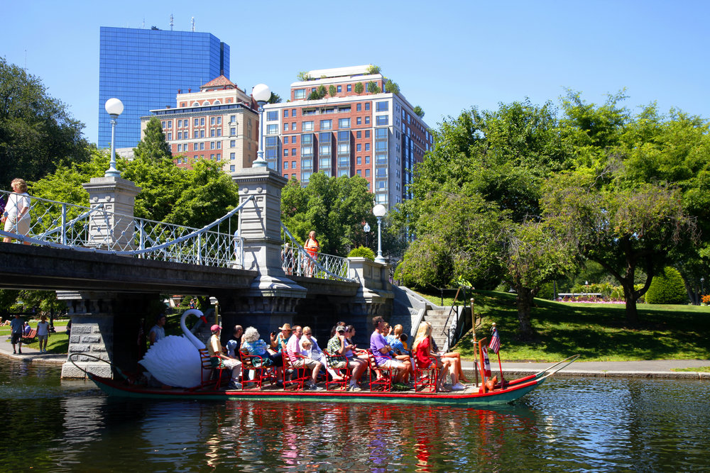 1/Ride the Swan Boats