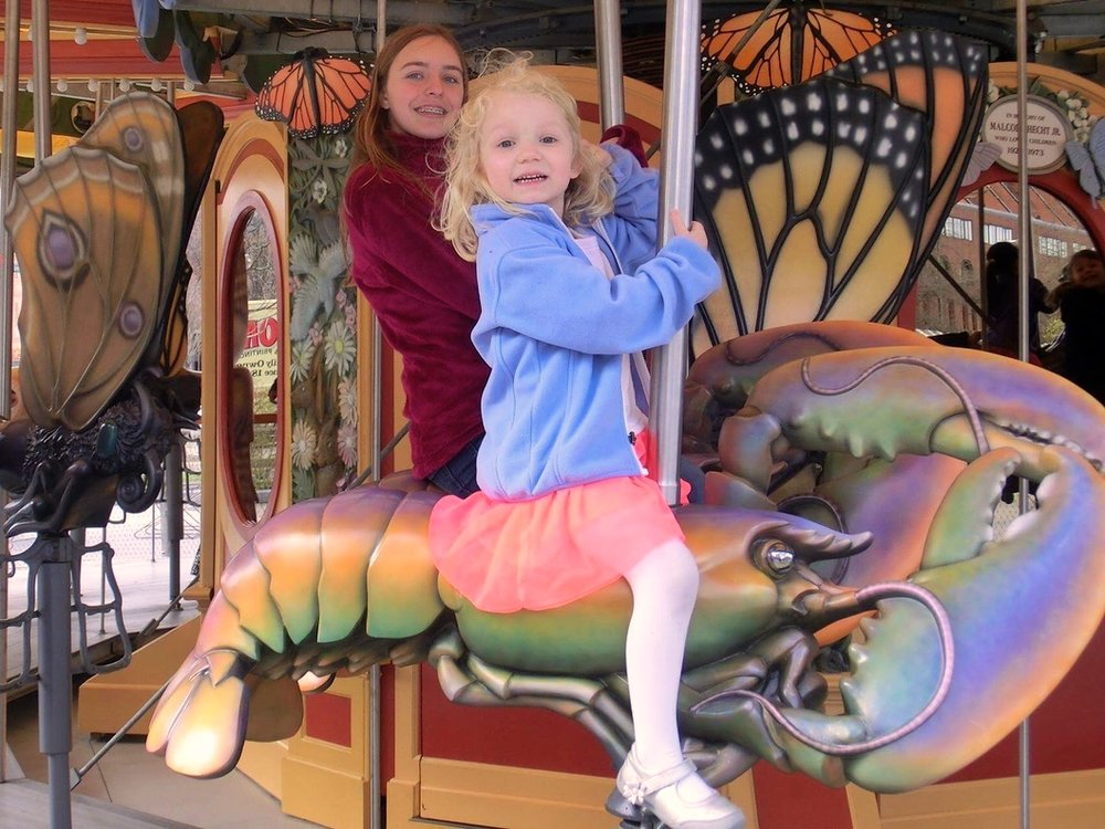 3/Ride a lobster on Greenway Carousel