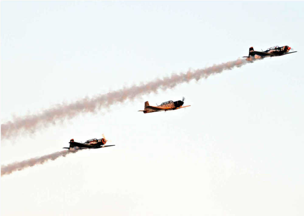 1/Saluting heroes & vintage air shows