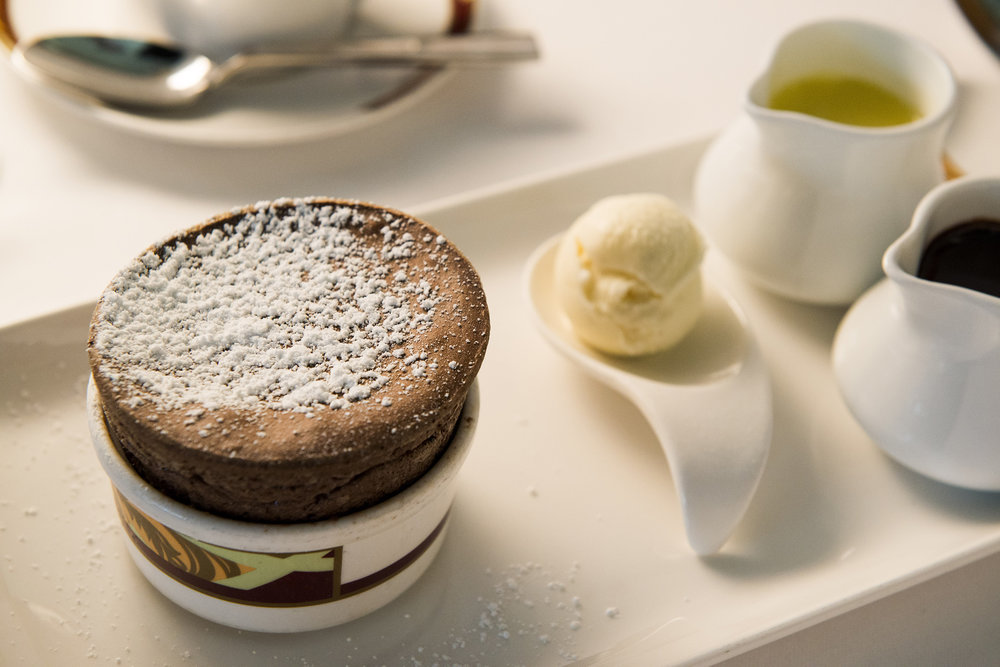 3/Chocolate souffle