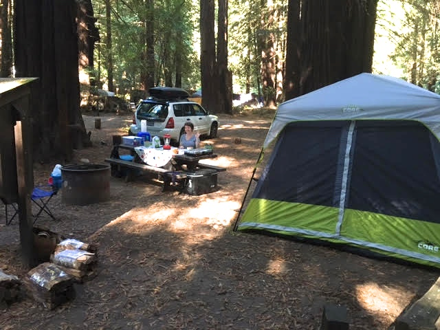 3/Reserve campsite close to others