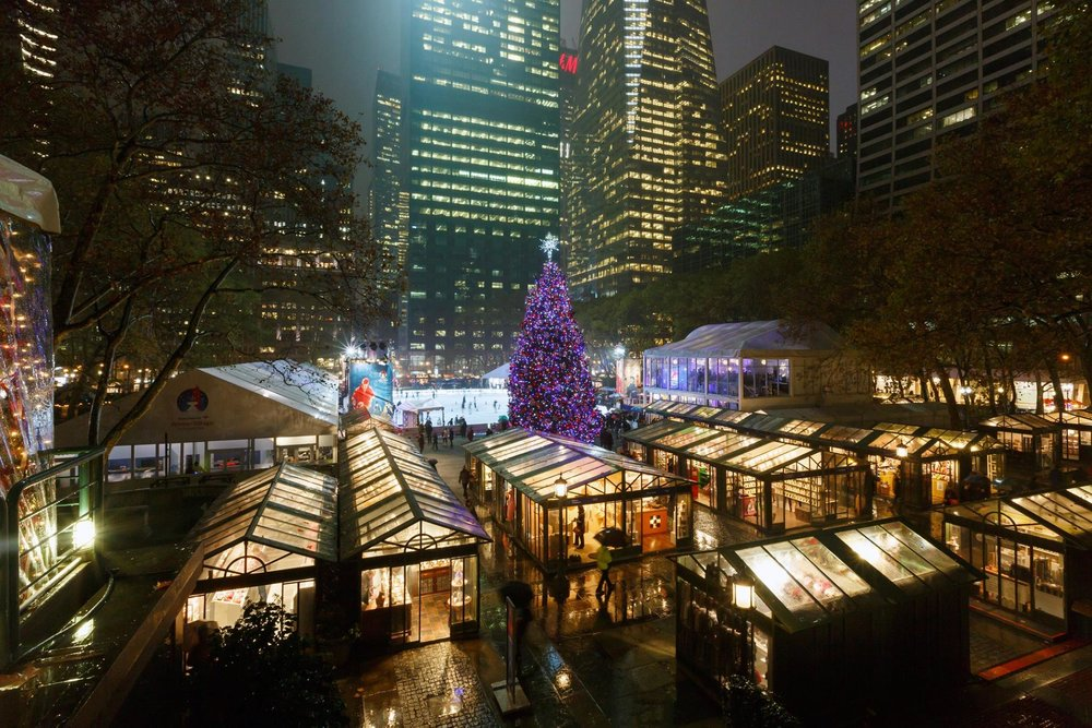 3/Shop small at Bryant Park