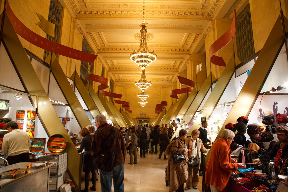 7/Grand Central Terminal Holiday Fair & Train Show