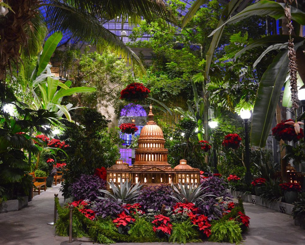 1/Seasons Greetings: National Parks & Historic Places, U.S. Botanic Garden