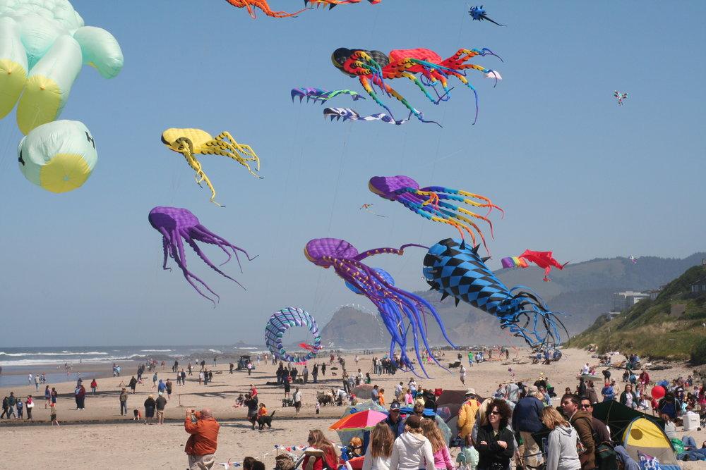 1/Fly a kite