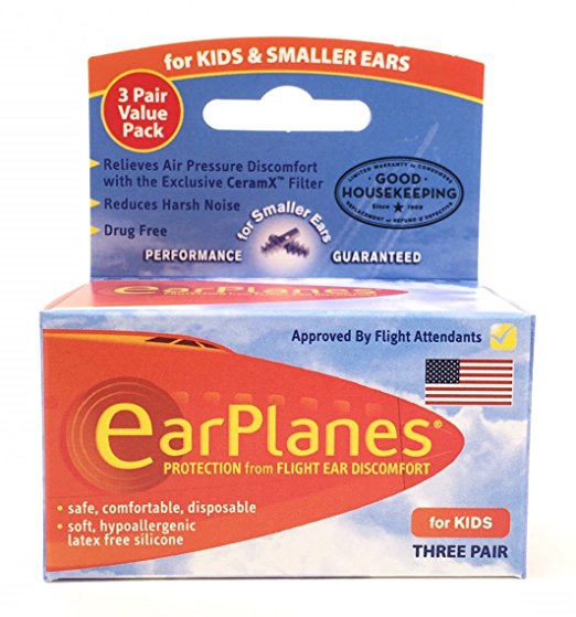 2/The Original EarPlanes for Kids