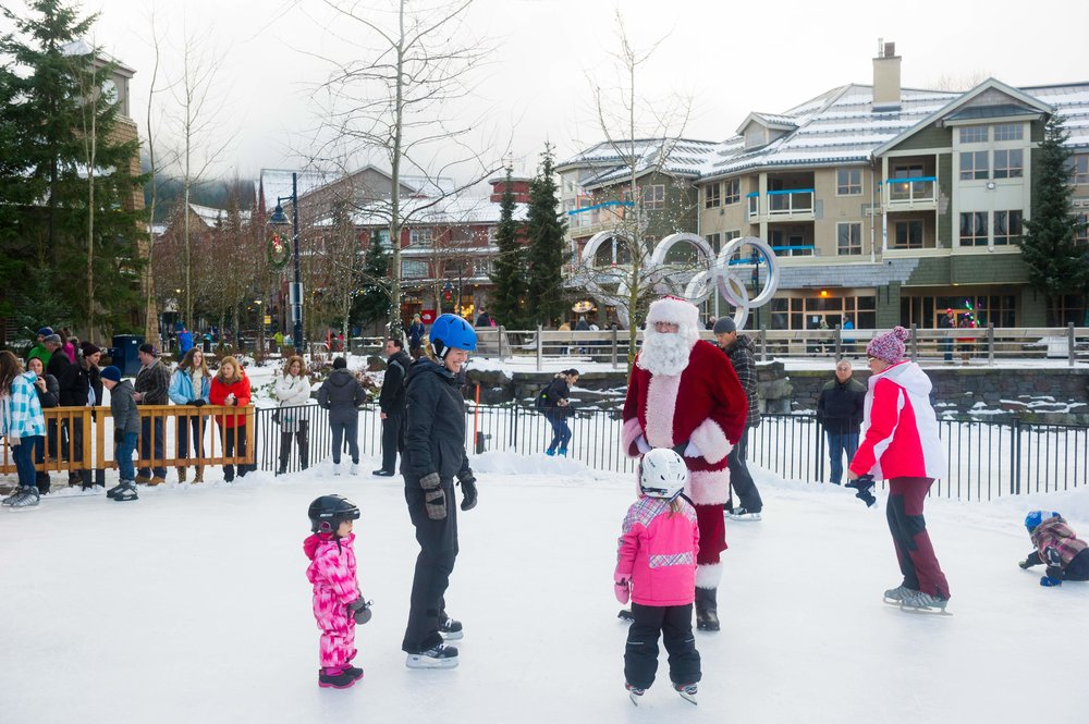 2/Skate with Santa