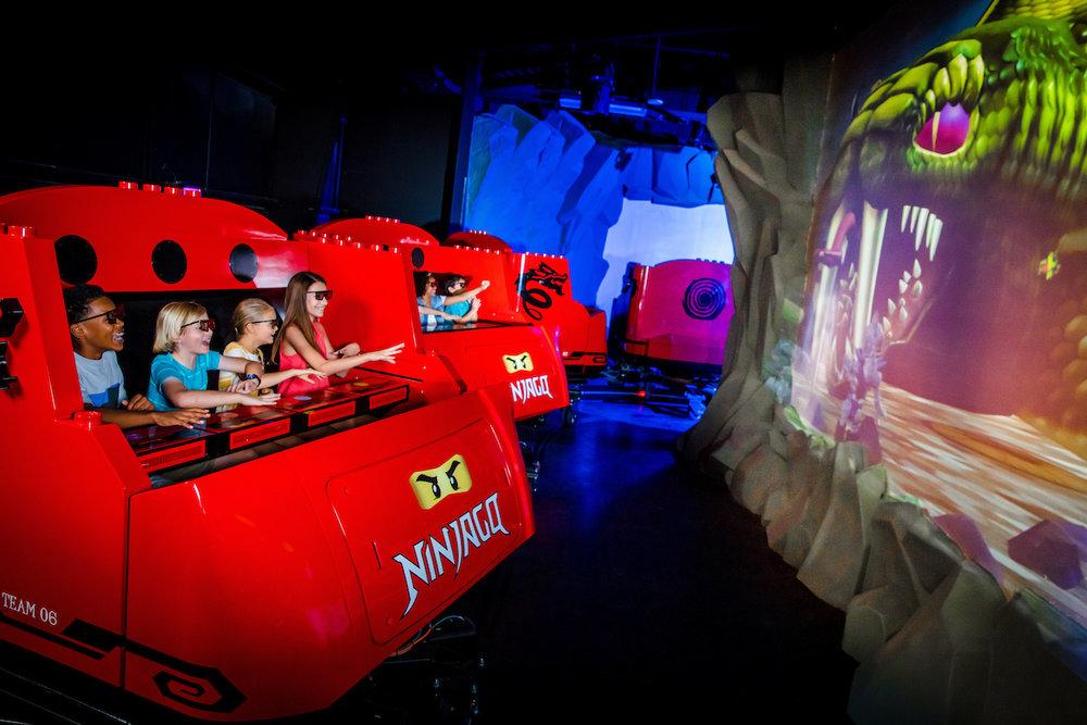 5/LEGO NINJAGO: The Ride