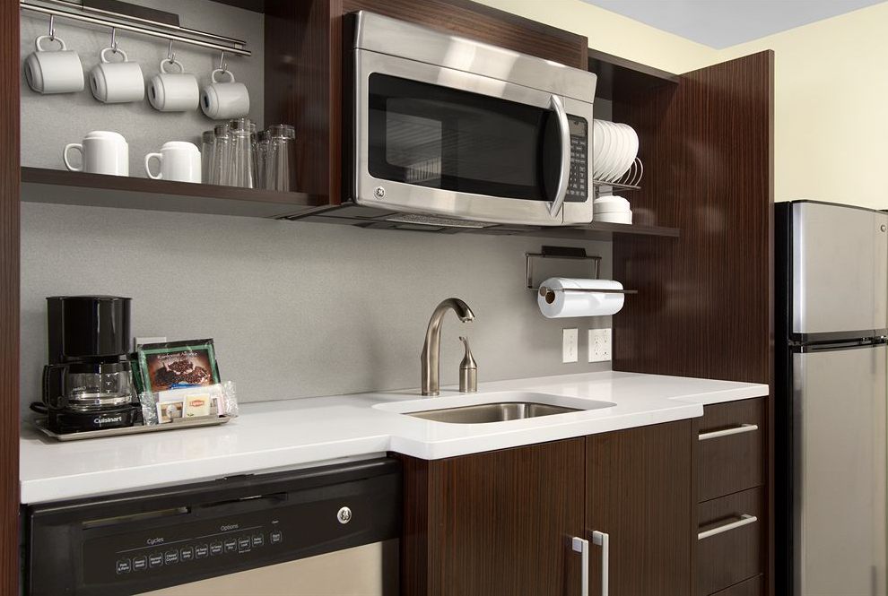 3/Whenever possible, stay in a place with a kitchen