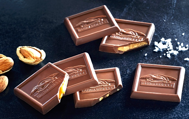 13/Eat free chocolate at Ghirardelli Square