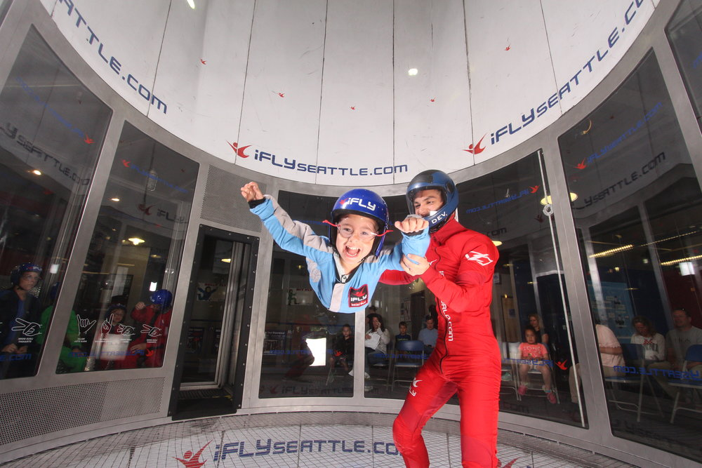 7/iFly Indoor Skydiving Seattle