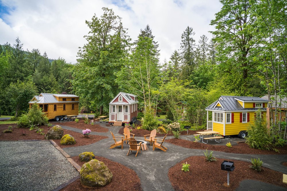 Mt Hood Tiny House Village Welches Oregon Kidtripster