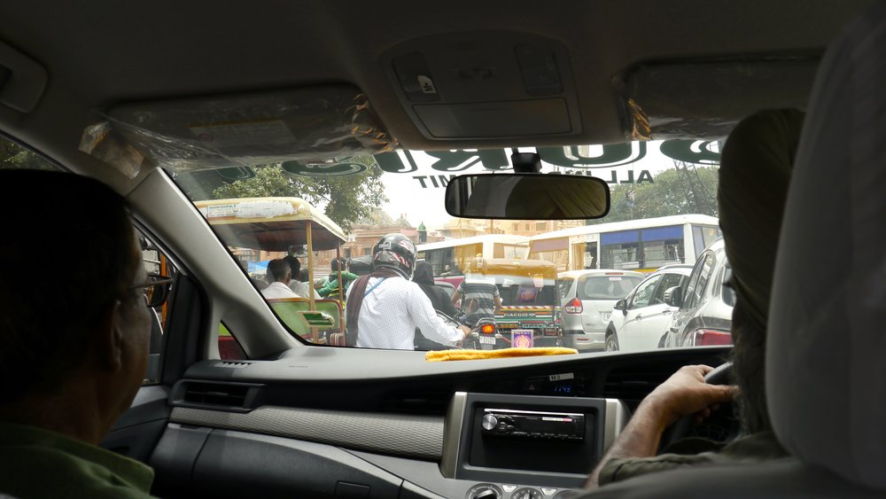 1/Traffic is insane