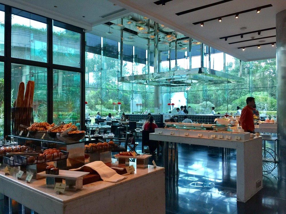 4/Eat at hotel restaurants