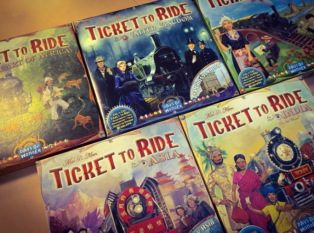 10/Ticket to Ride by Days of Wonder