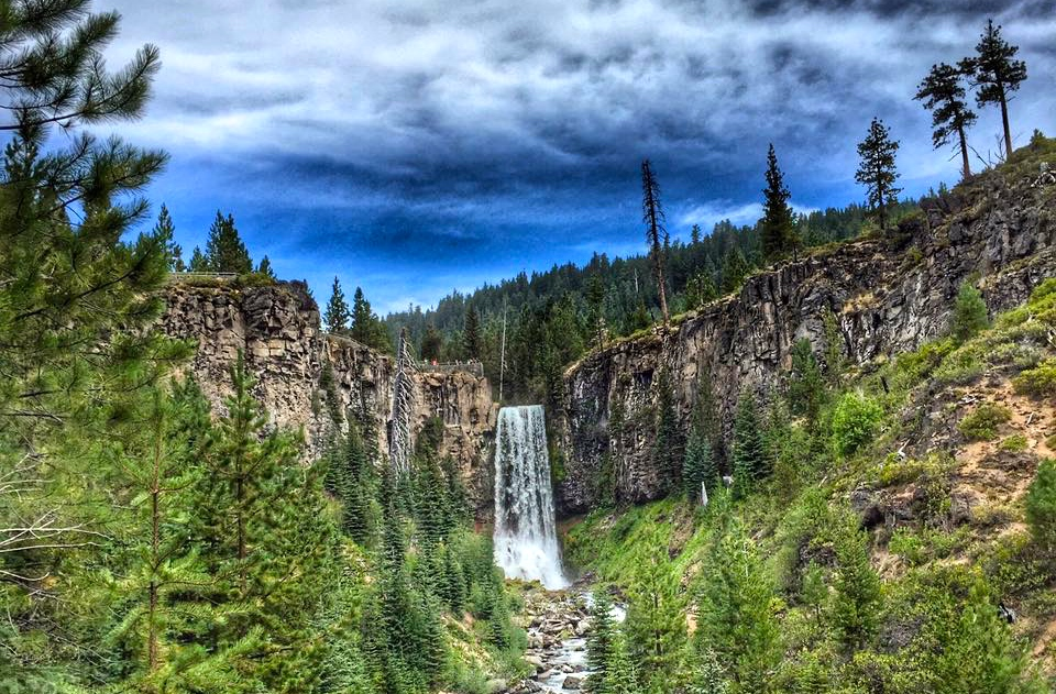 7/Hike to Tumalo Falls