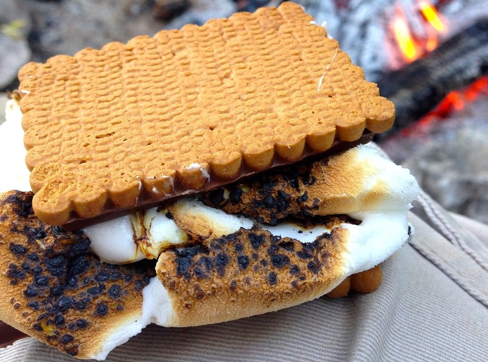 8/Think barbecue & s'mores