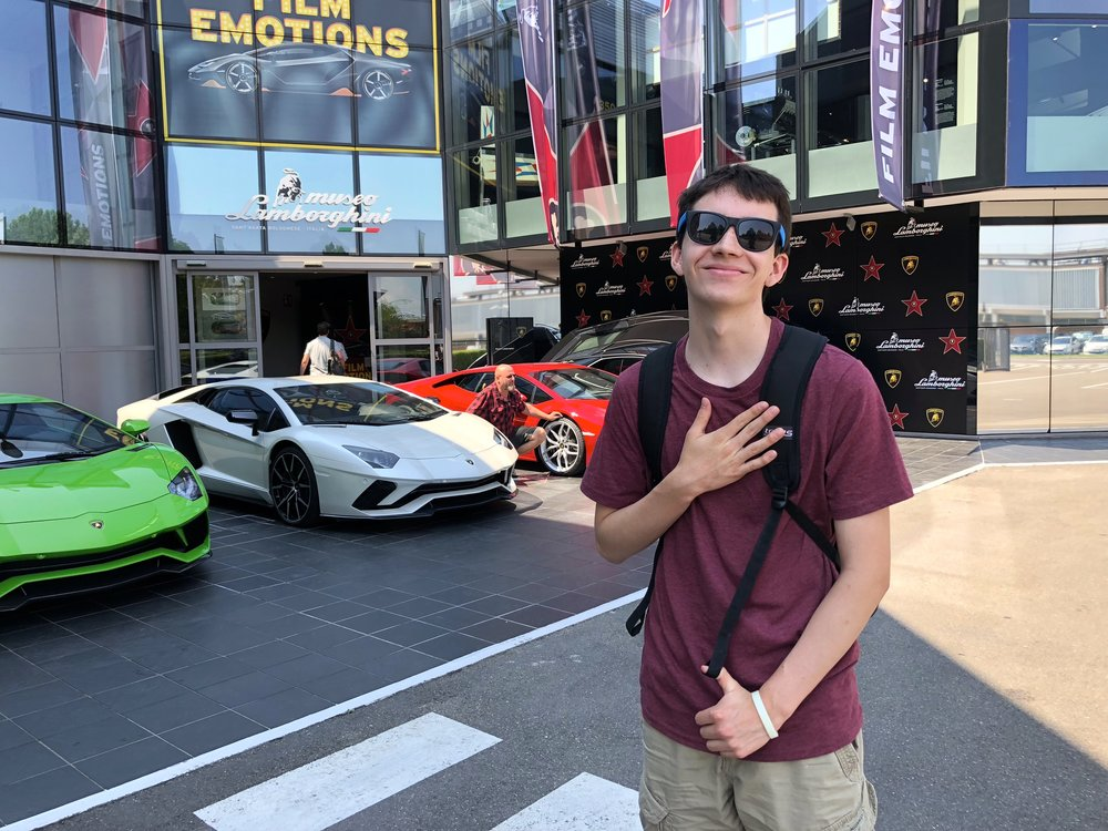 9/Zoom out to the Lamborghini Museum & Factory