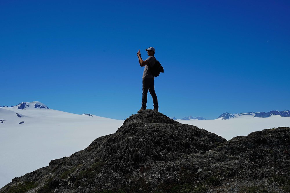 5/Hike to the top of an icefield