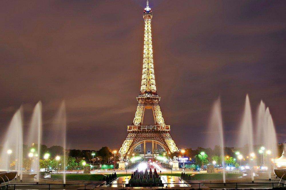 5/Climb the Eiffel Tower at night