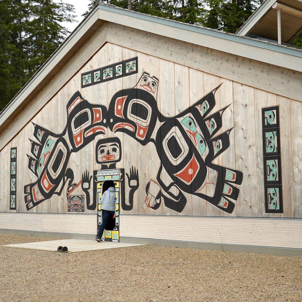6-30-18 Nathan entering Tribal House.JPG