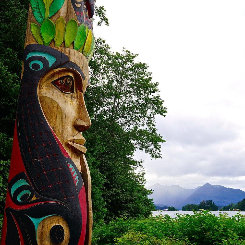 6-24-18 Native woman ocean.JPG