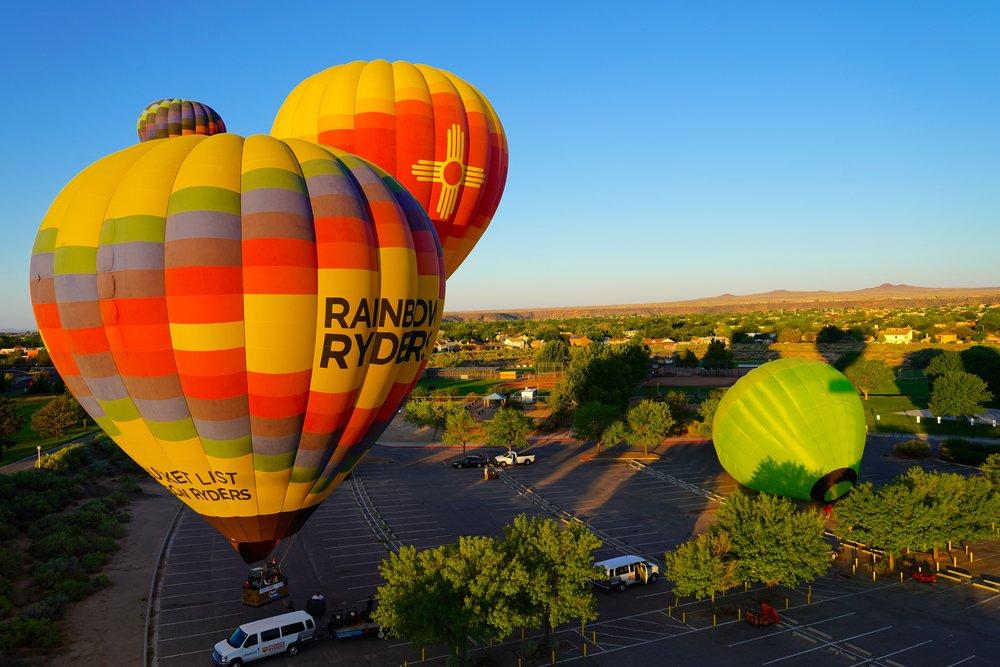 1/Soar in a hot air balloon