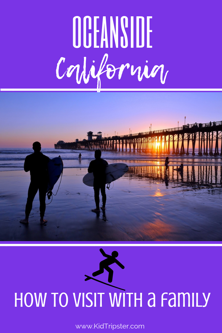 Family vacation in Oceanside, California