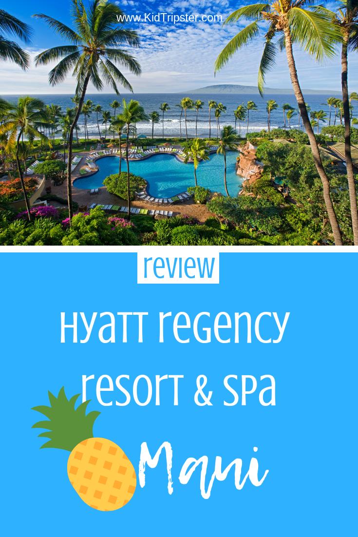 Family vacation at Hyatt Regency Resort & Spa on Maui